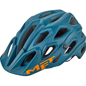 MET Lupo Casque, matt blue oil